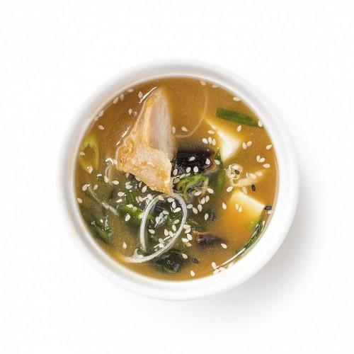 Місо суп з куркою